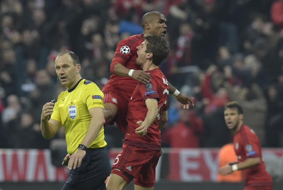 El Bayern Munich vino de atrás para empatar el marcador en su casa. (Foto: AFP)
