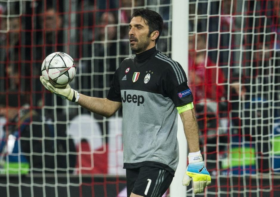 Buffon rompió el récord de imbatibilidad en el arco. (Foto: AFP)