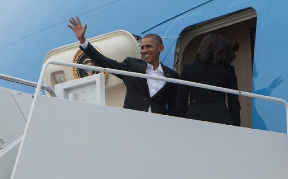El presidente de EE.UU., viaja a Cuba en un día histórico para el mundo. (Foto: AFP)