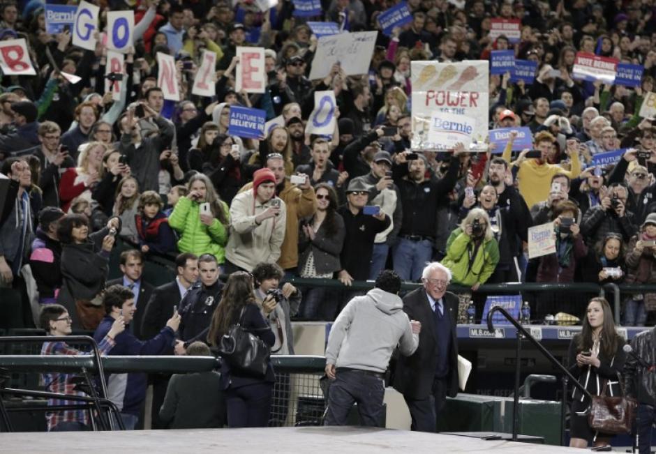 La victoria en Washington es considerada esencial para Sanders. (Foto: AFP)