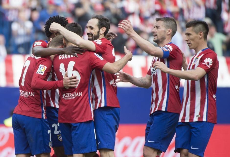 Atlético de Madrid ganó su partido 22 de la Liga y se mantiene sublíder. (Foto: AFP)
