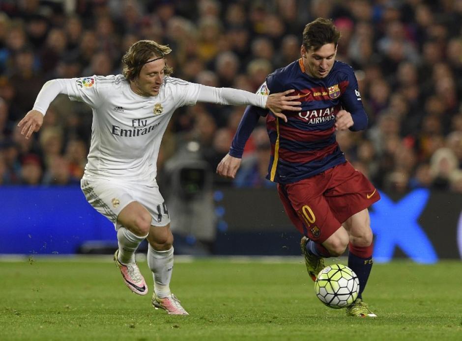 Messi no tuvo su mejor partido ante Real Madrid.  (Foto: AFP)