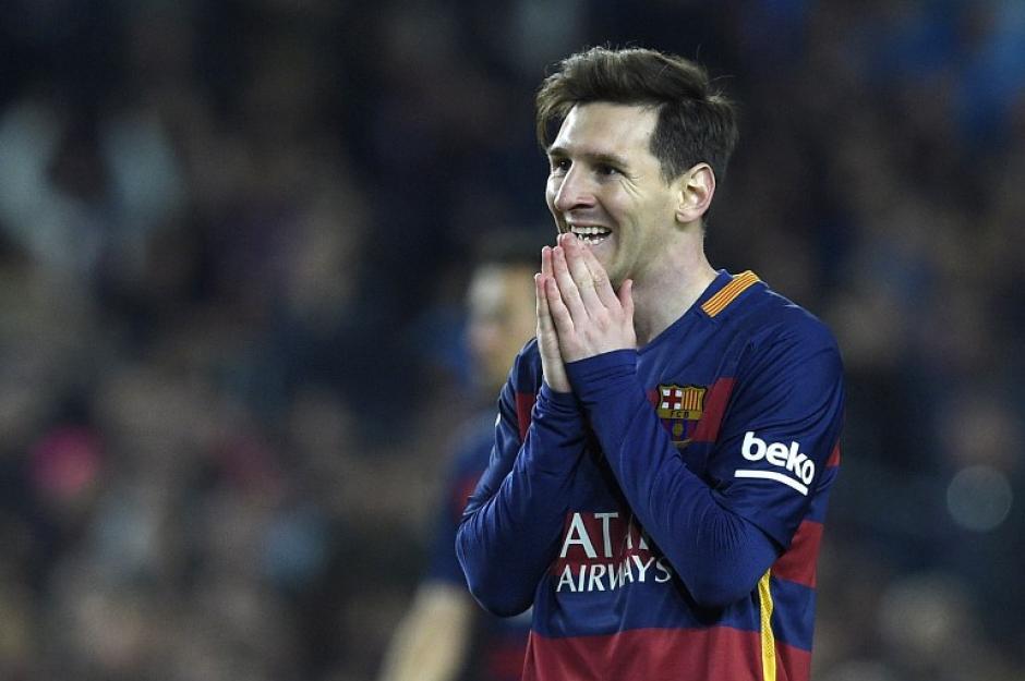 Este fue el rostro de Messi tras el segundo gol de Real Madrid, en el clásico de España.  (Foto: AFP)