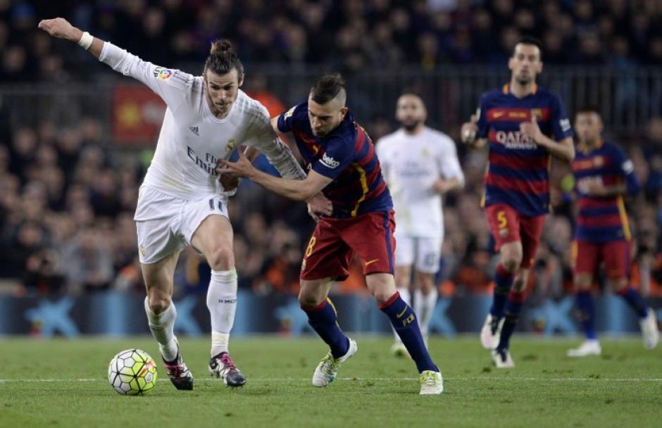 Gareth Bale intentó desequilibrar en la ofensiva del Madrid. (Foto: AFP)