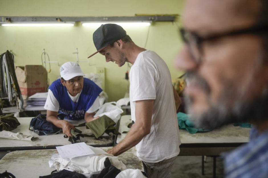 El creador de Pietá es Thomas Jacob, un bretón nacido hace 29 años en la pequeña Locoal-Mendon. (Foto: AFP)