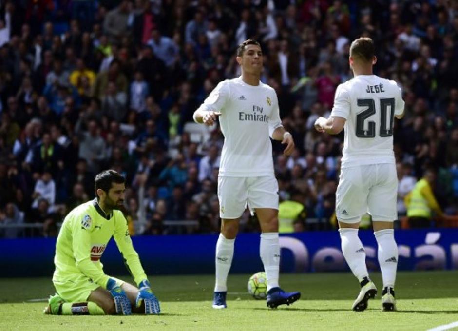 """Cristiano Ronaldo llegó a 30 goles en la Liga y se mantiene como único """"Pichichi"""". (Foto: AFP)"""