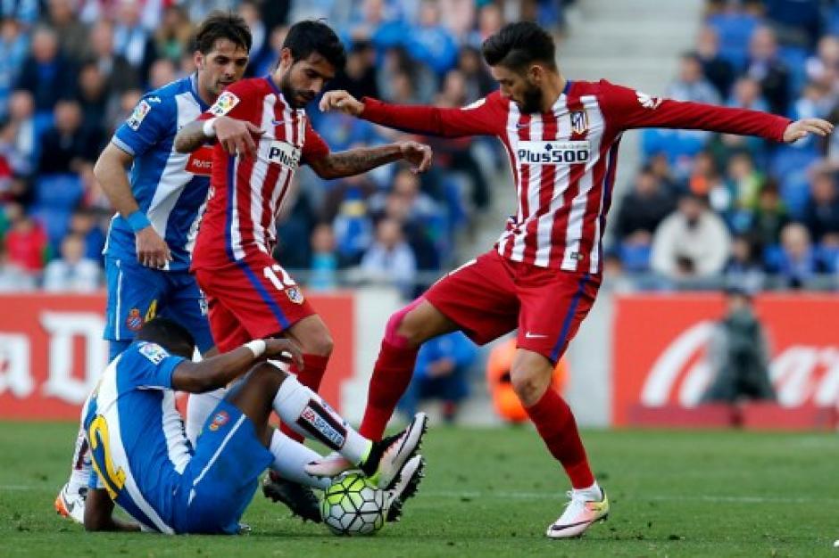 """El equipo """"Colchonero"""" no baja los brazos en la pelea por la Liga. (Foto: AFP)"""