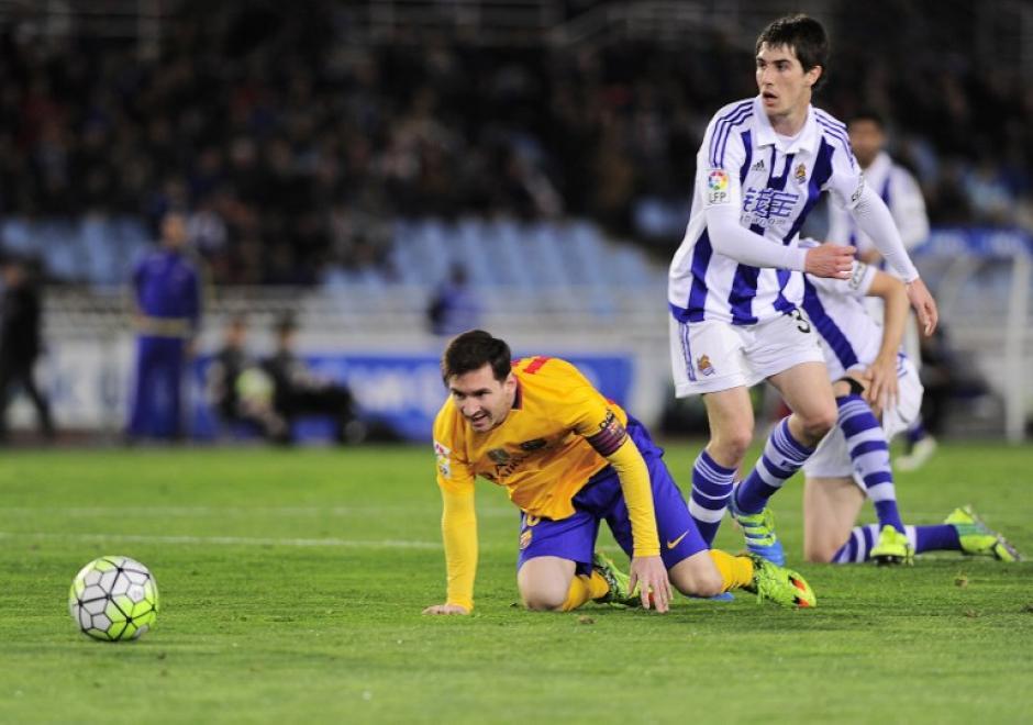 Barcelona cayó por segunda jornada consecutiva en la Liga de España y el Atlético de Madrid se puso a tres puntos. (Foto: AFP)
