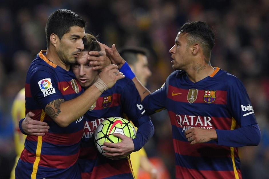 Lionel Messi quedó en el quinto puesto, incluso detrás de Suárez, que fue cuarto. (Foto: AFP)