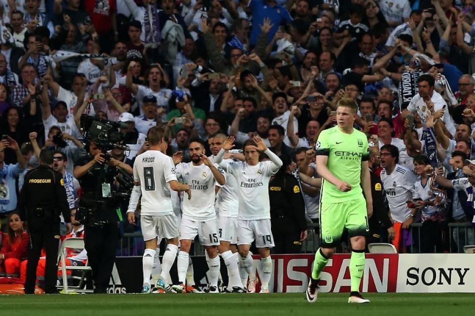 Un gol de Bale, que al final la UEFA dio como autogol, sirvió para el triunfo madridista. (Foto: AFP)