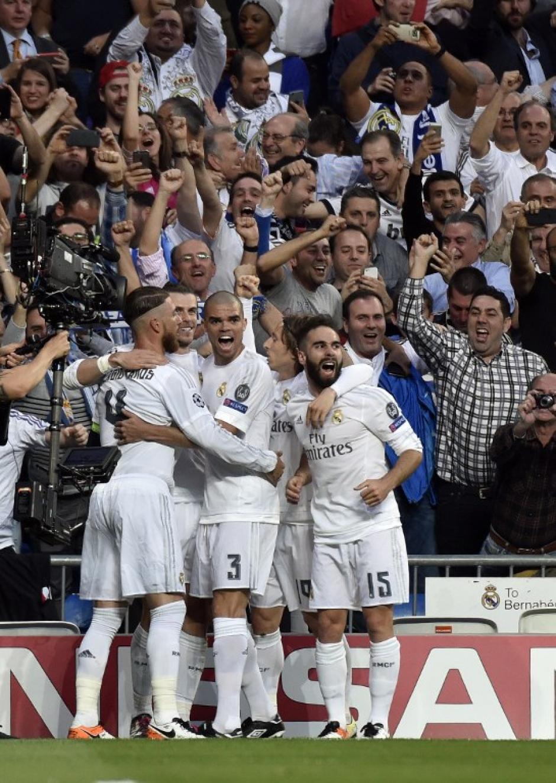 El Real Madrid derrotó al City en el Bernabéu y accedió a la final de la UEFA Champions League. (Foto: AFP)