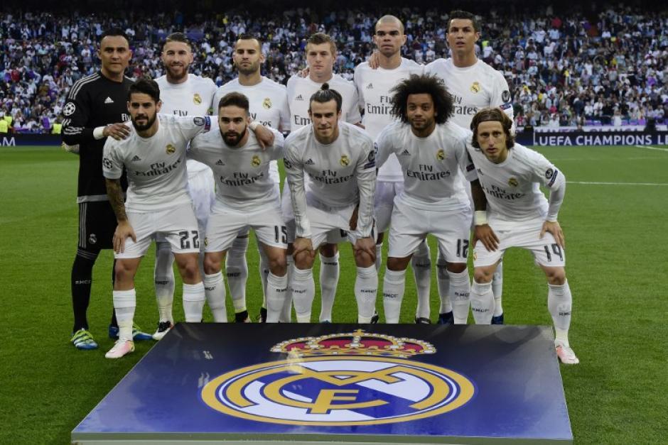 Este es el cuadro titular del Madrid que jugó ante el City en el encuentro de vuelta. (Foto: AFP)