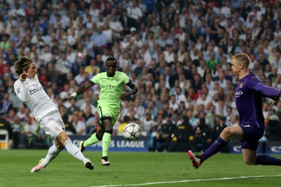 Modric fue el motor merengue en el Bernabéu ante el City. (Foto: AFP)