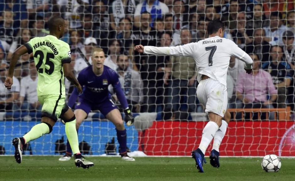 Cristiano Ronaldo no pudo anotarle al City en ninguno de los dos juegos. (Foto: AFP)