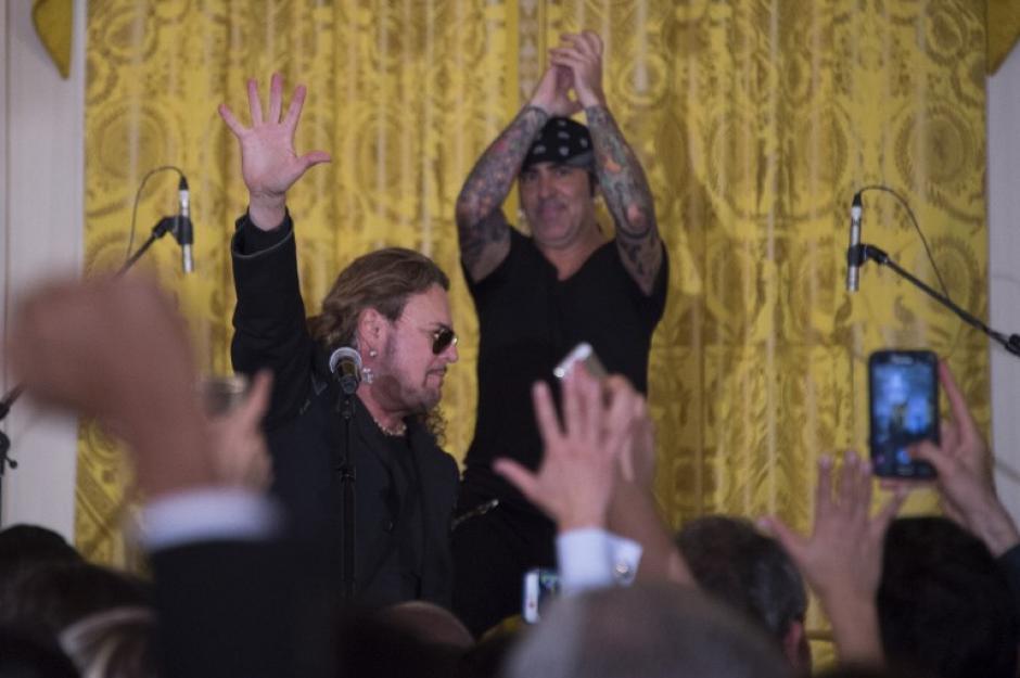 El concierto fue en homenaje a la contribución de los inmigrantes hispanos a diversos aspectos de la cultura estadounidense. (Foto: AFP)