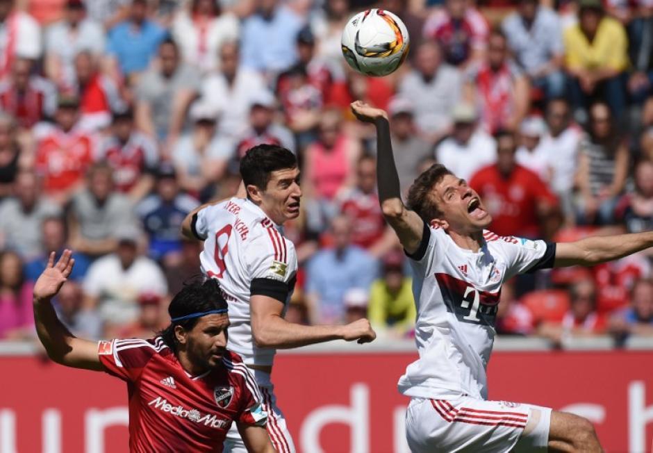 Thomas Müller es uno de los artífices del título del Bayern. (Foto: AFP)