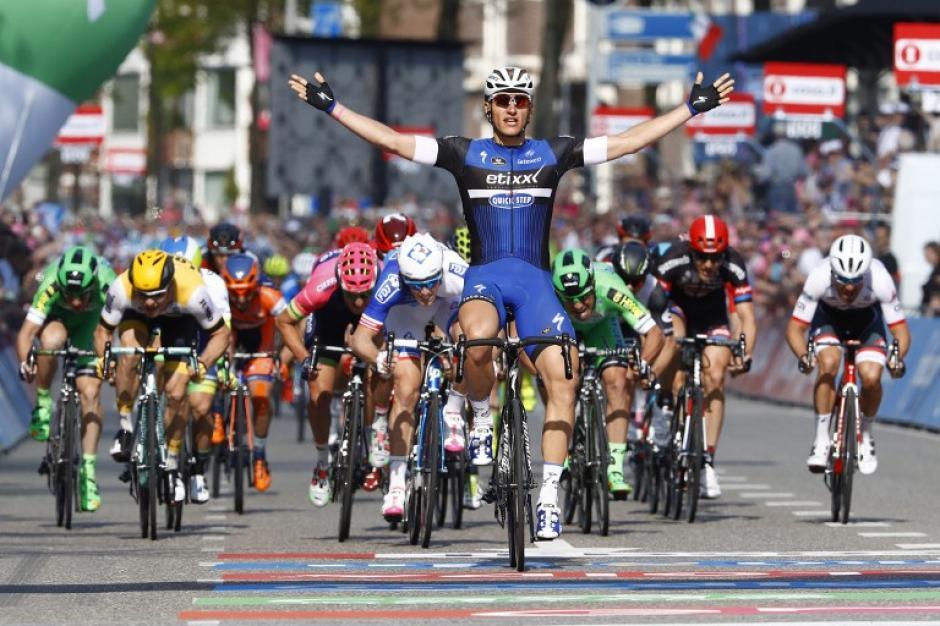 Marcel Kittel ganó la segunda etapa del Giro de Italia. (Foto: AFP)