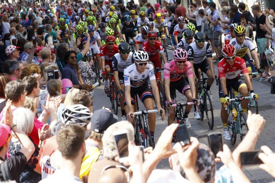 Este domingo se disputará la tercera etapa del Giro aún en suelo holandés. (Foto: AFP)