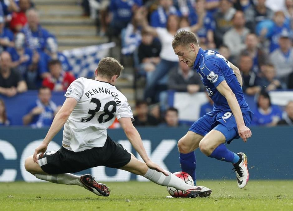Leicester derrotó 3-1 a Everton. (Foto: AFP)