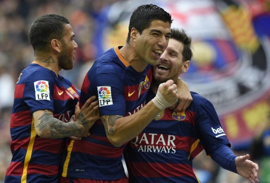 Barcelona goleó a Espanyol en el clásico catalán y llegará como súper líder a la última jornada de la Liga. (Foto: AFP)