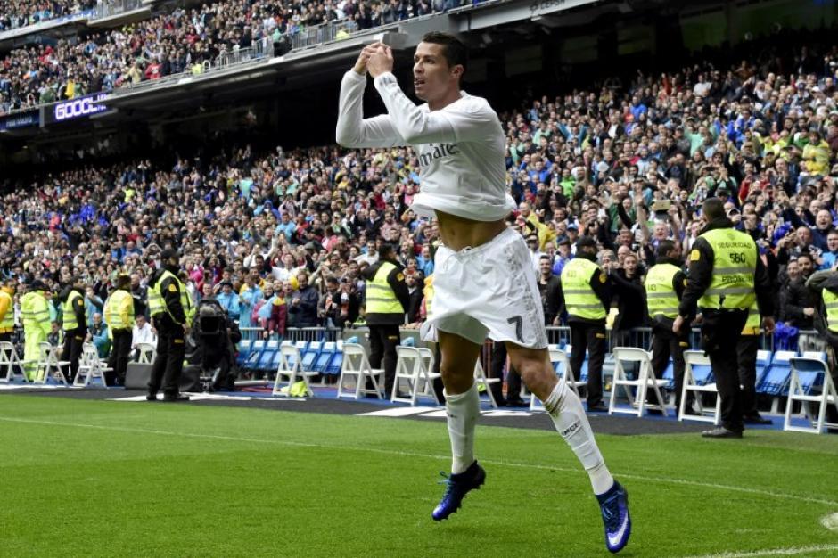 Cristiano Ronaldo comandó con doblete la victoria de Real Madrid ante Valencia. (Foto: AFP)