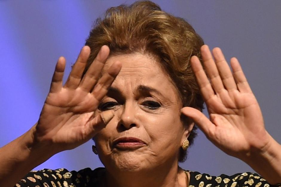 La presidenta de Brasil, Dilma Rousseff, fue suspendida durante la madrugada. (Foto: AFP)