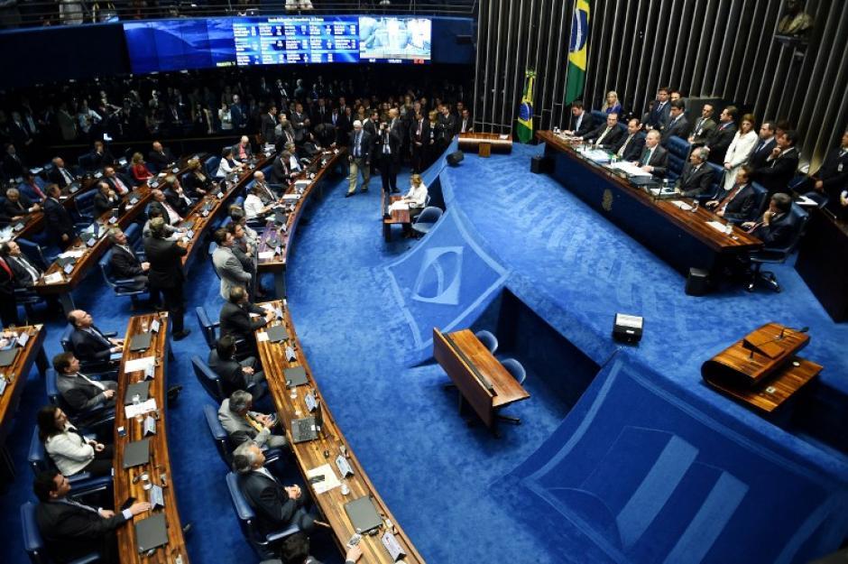 El Congreso suspendió por 180 días a Rousseff de la presidencia. (Foto: AFP)