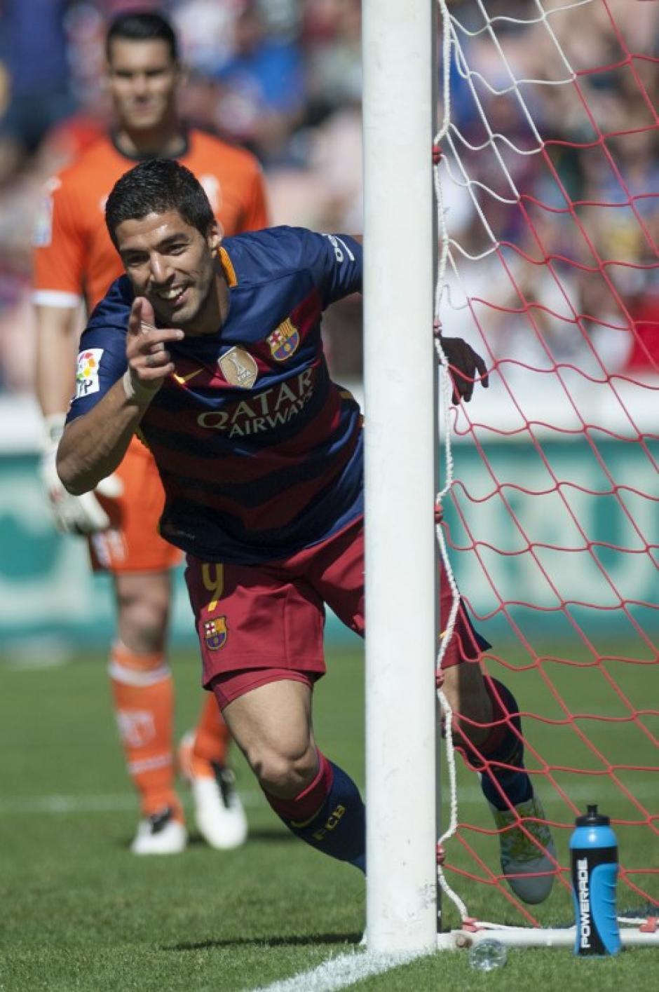 Luis Suárez comanda el ataque de los azulgranas. (Foto: AFP)