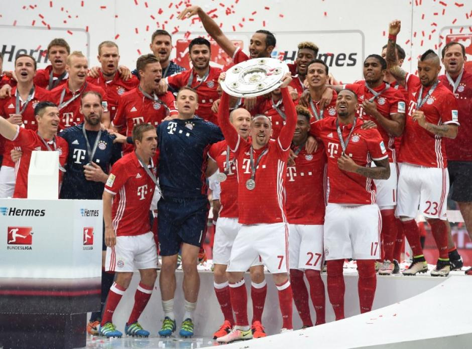 El Bayern es el primer equipo de Alemania en conseguir un tetracampeonato. (Foto: AFP)