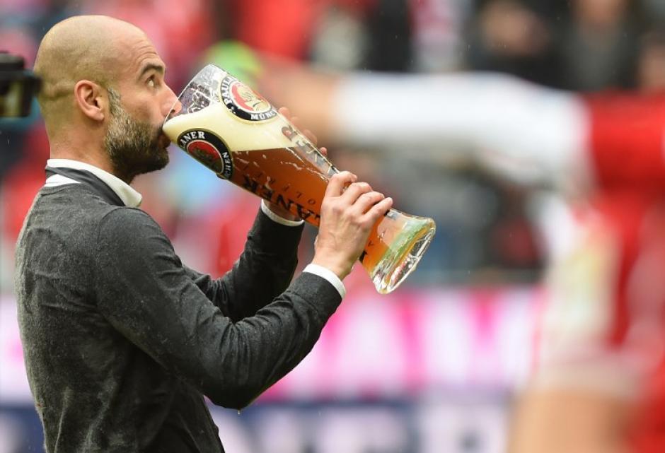 """""""Sentimientos encontrados"""", dijo Guardiola en su despedida. (Foto: AFP)"""