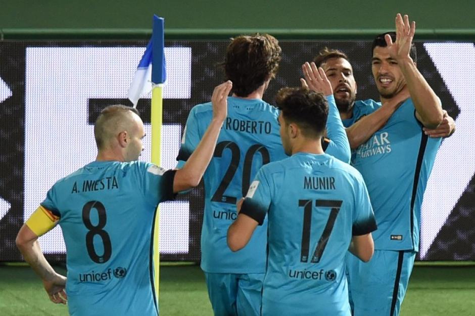 El Barcelona jugará ante el River Plate la final del Mundial de Clubes en Japón. (Foto: AFP)