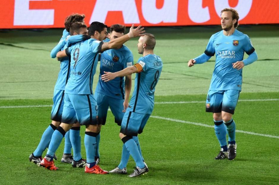 Messi no jugó en Japón ante el Guanghzou por un problema físico. (Foto: AFP)