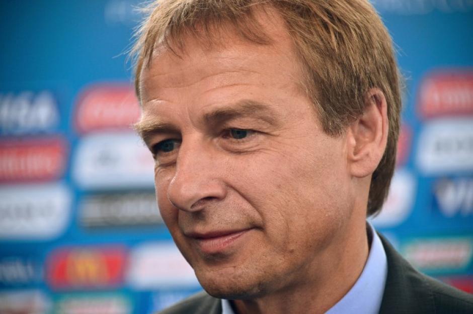 Jürgen Klinsmann esta preparado par aconocer contra quienes jugará la selección de los Estados Unidos, primer lugar de la eliminatoria de Concacaf. (AFP)