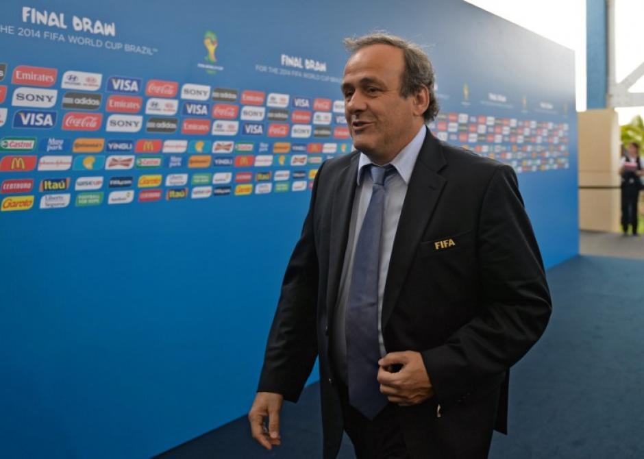 El presidente de la UEFA Michel Platini ex astro de la selección francesa. (AFP)