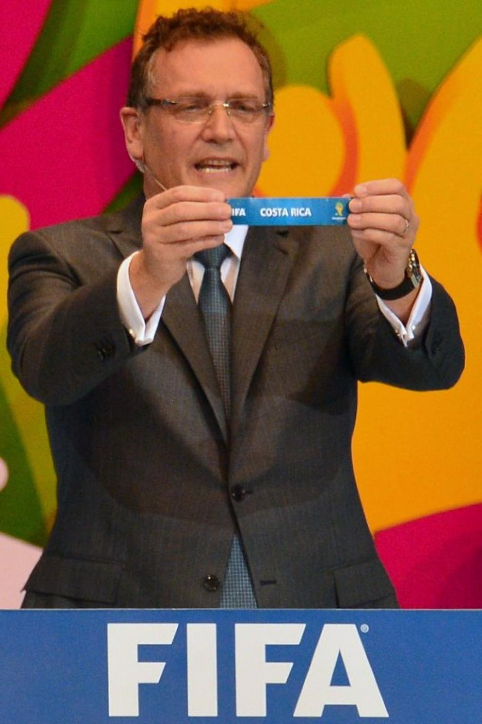 """Costa Rica estará en el grupo D, el llamado el de """"Grupo de la muerte"""" junto con tres ex campeones mundiales. (Foto: AFP)"""