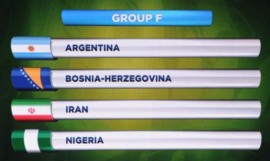 Este es el grupo F de la seleccción de Argentina de Lionel Messi. (Foto: AFP)