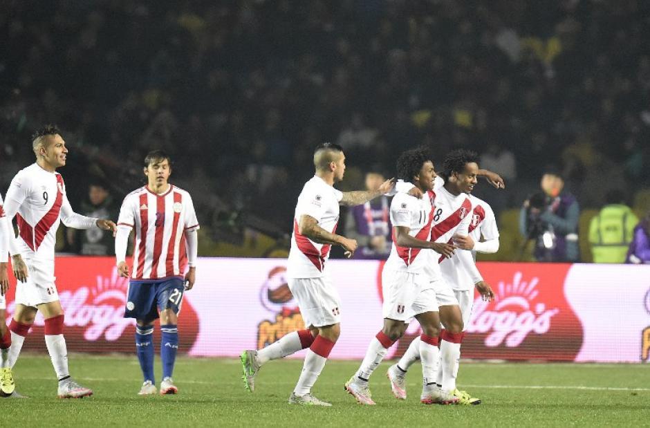 Perú derrotó a Paraguay y se quedó con el tercer puesto de la Copa América de Chile 2015 tras haber caído en semifinales ante los locales. (Foto: AFP)