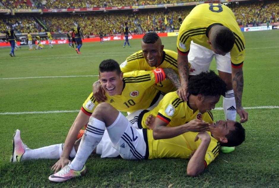 Colombia derrotó en casa a Ecuador por 3-1. (Foto: AFP)