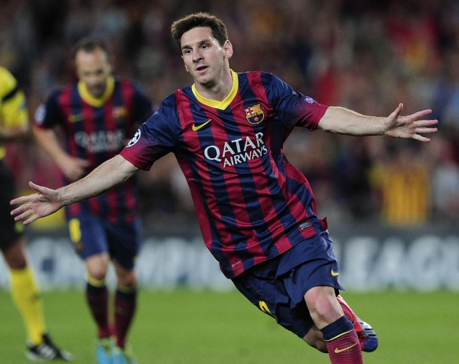 Los goles y su actuación en el Fútbol Club Barcelona colocan a Lionel Messi como una de las figuras más importantes de Latinamérica y el mundo. (Foto: AFP)