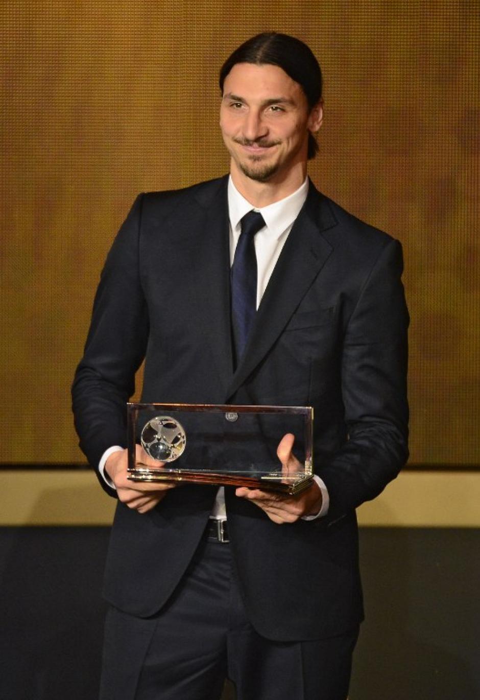 Zlatan ganó hace un año el premio Puskas al mejor gol de la FIFA. (Foto: AFP)