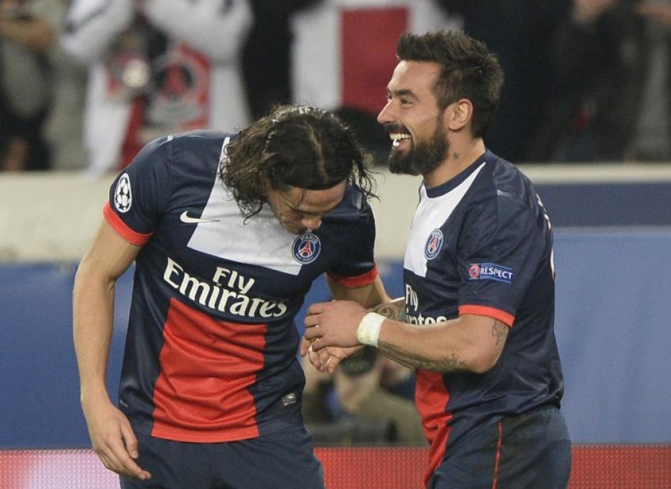 """Ezequiel """"el Pocho"""" Lavezzi fue el anotador del 2-1 definitivo con el que el PSG derrotó al Leverkusen. (Foto: AFP)"""