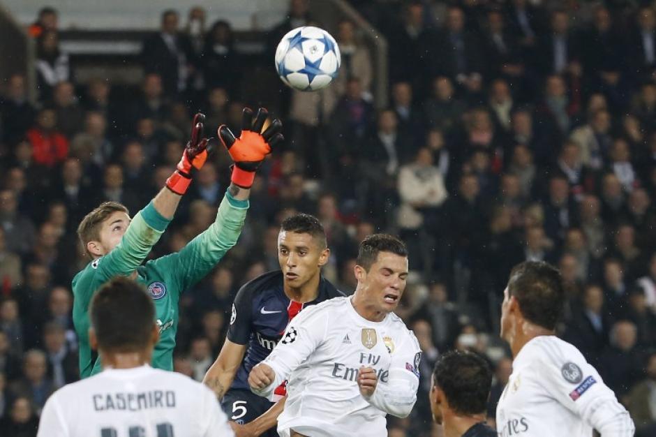 El empate a cero entre el PSG y el Real Madrid en Paris tuvo varias ocasiones a gol