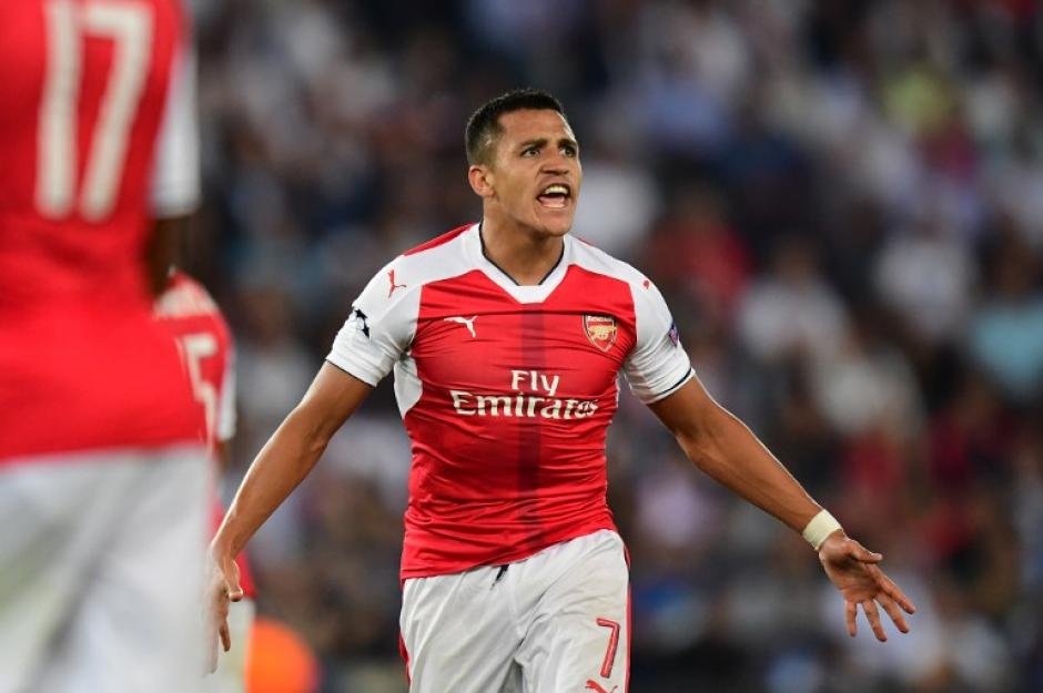 Alexis Sánchez empató para el Arsenal. (Foto: AFP)