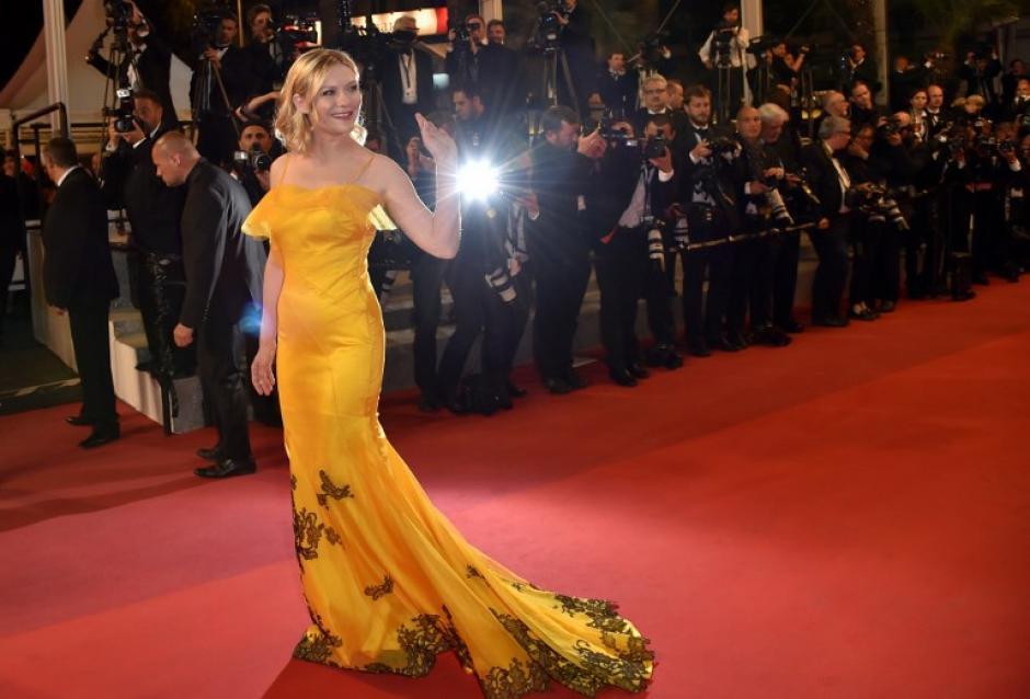 E vestido es un diseño de John Galliano para Martin Margiela. (Foto: AFP)