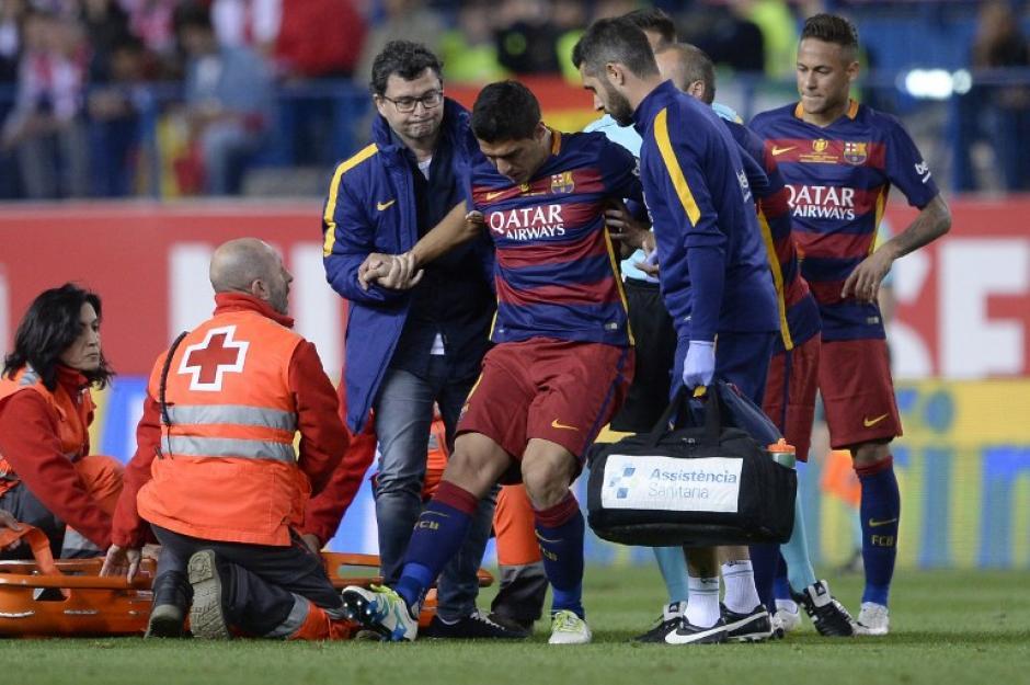 La lesión podría dejarlo fuera un par de meses. (Foto: AFP)
