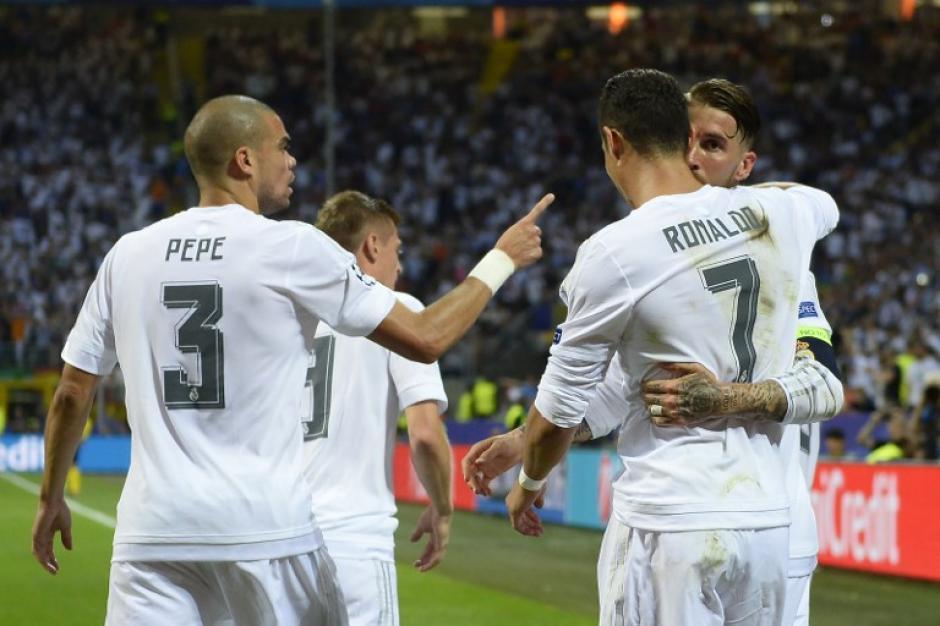 Real Madrid jugó mejor en el primer tiempo, pero le faltó contundencia. (Foto: AFP)