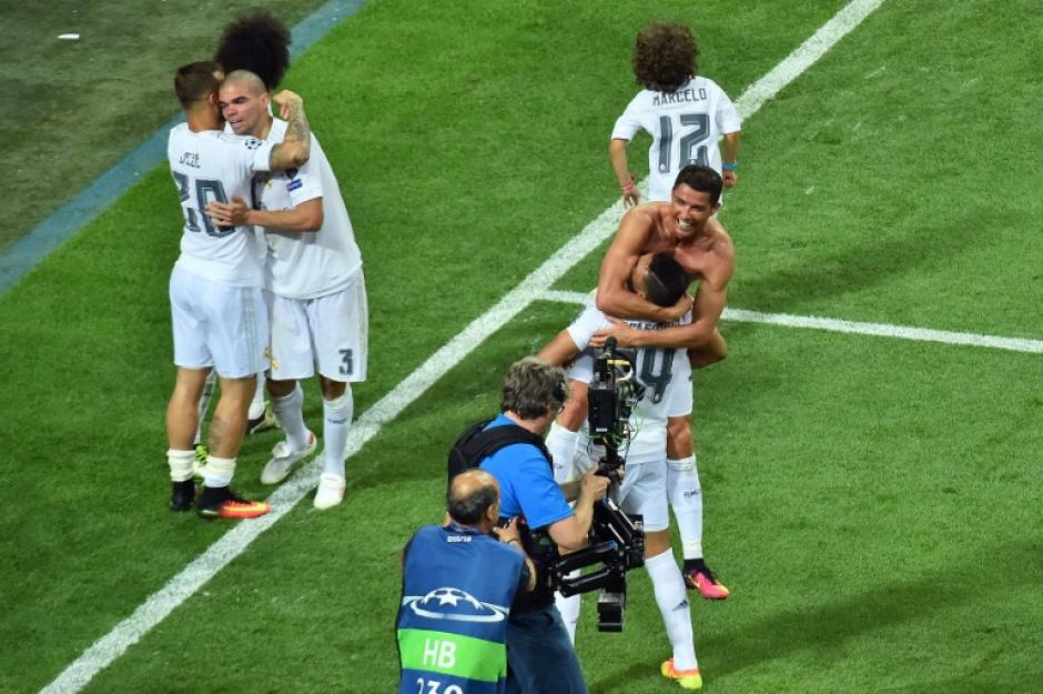 Real Madrid festejó su undécima Champions League en la historia. (Foto: AFP)