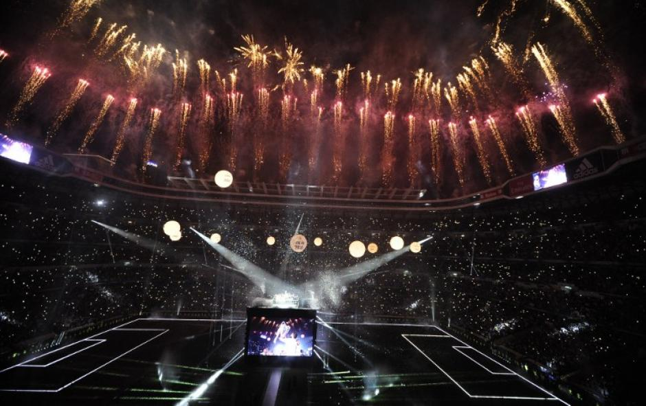 Los juegos artificiales no se hicieron esperar. (Foto: AFP)