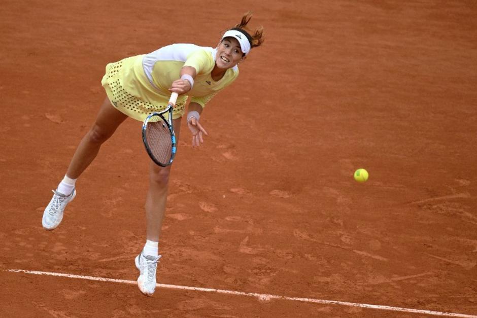 Garbiñe Muguruza derrotó a Serena Williams y hace historia en Roland Garros. (Foto: AFP)