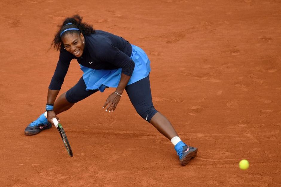 Serena Williams reconoció el talento de su oponente española-venezolana, Garbiñe Muguruza. (Foto: AFP)